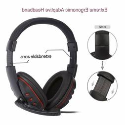 Wired Gaming Stereo Headset Headphone with Microphone For Un