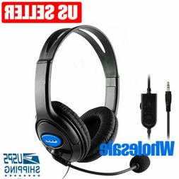 NEW Gaming Headset for PS4 Xbox One Laptop with Mic Headphon