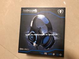 Beexcellent Wired USB Gaming Headset with Volume Control & B