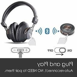 Wireless Headphones 40hrs for TV Watching PC Gaming with Blu