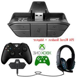 Xbox One Game Controller Stereo Headset Adapter Audio Conver