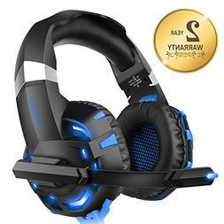 Xbox one Headset for PS4,WILLNORN K2 Gaming Headset with Mic
