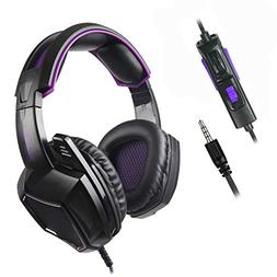 Sades SA920 3.5mm Wired Over Ear Stereo Bass Gaming Headphon