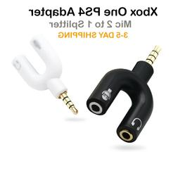 Xbox One/PS4 Gaming Headset to PC Headphone Mic Y Splitter A