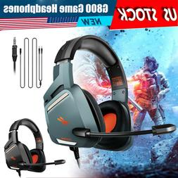 For Xbox One/ PS4/ PSP/PC Gaming Headset with Mic Stereo Sur